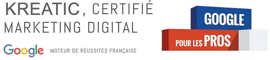 kreatic certifié marketing digital